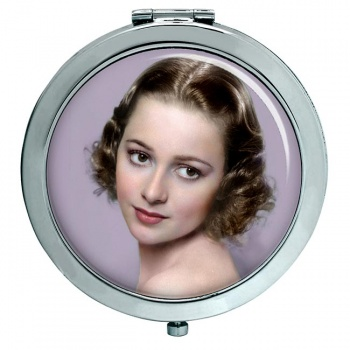 Olivia de Havilland Compact Mirror