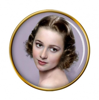 Olivia de Havilland Pin Badge