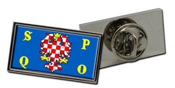 Olomouc Flag Pin Badge