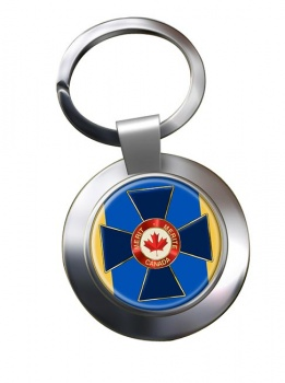 Order of Military Merit (Canada) Chrome Key Ring