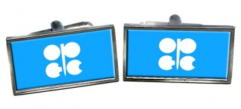 OPEC Rectangle Cufflinks