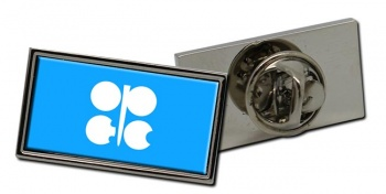 OPEC Rectangle Tie Pin