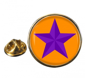 Orange Order Round Pin Badge