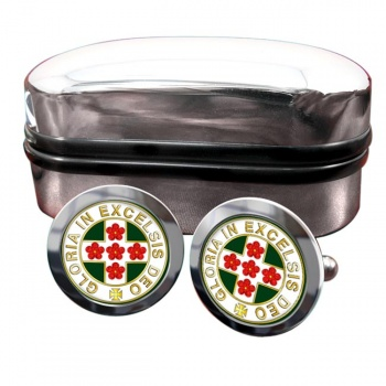 Royal Order of Scotland Masonic Round Cufflinks