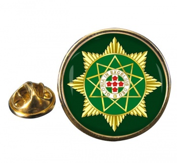 Royal Order of Scotland Masonic Round Pin Badge