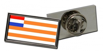 Orange Free State (South Africa) Flag Pin Badge