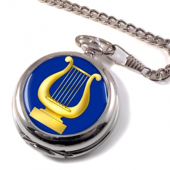 Masonic Lodge Organist Pocket Watch