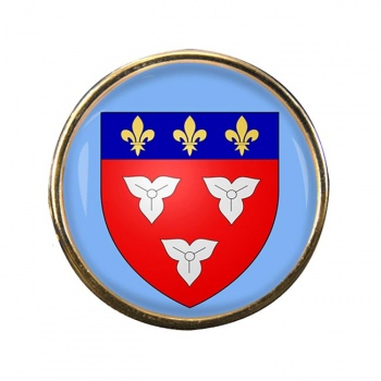 Orleans (France) Round Pin Badge