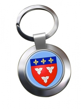 Orleans (France) Metal Key Ring