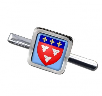 Orleans (France) Square Tie Clip