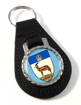 Orange River Colony (South Africa( Leather Key Fob