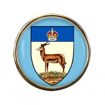 Orange River Colony (South Africa( Round Pin Badge