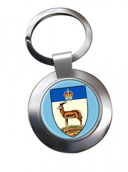 Orange River Colony (South Africa( Metal Key Ring