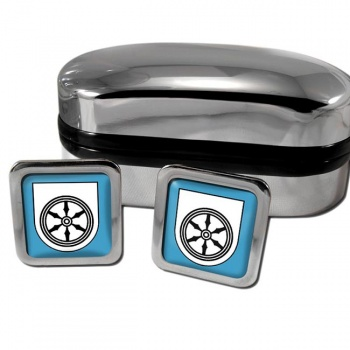 Osnabruck Germany Square Cufflinks