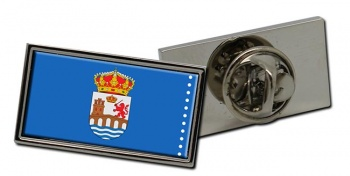 Ourense (Spain) Flag Pin Badge