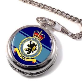 RAF Station Ouston Pocket Watch