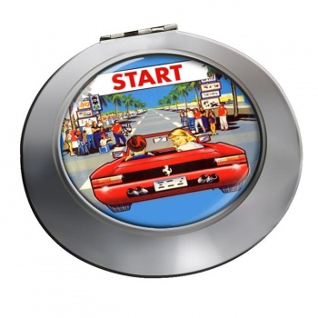 Outrun Game Chrome Mirror