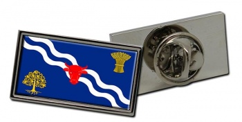 Oxfordshire (England) Flag Pin Badge