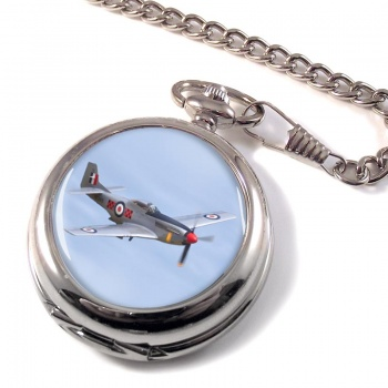 P51 Mustang Pocket Watch