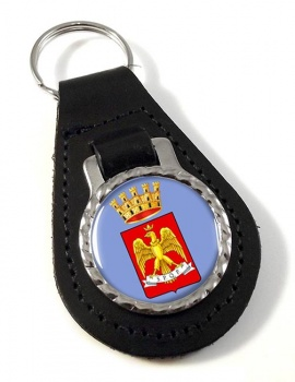 Palermo (Italy) Leather Key Fob