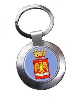 Palermo (Italy) Metal Key Ring