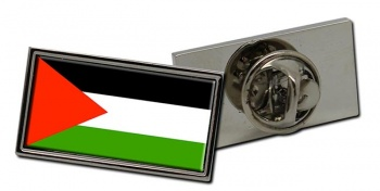 Palestine Flag Pin Badge