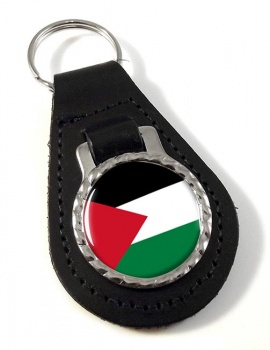 Palestine Leather Key Fob