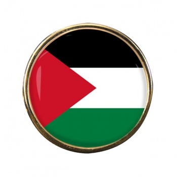 Palestine Round Pin Badge