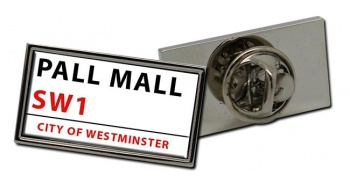 Pall Mall Rectangle Pin Badge