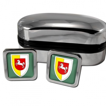 Panzerlehrbrigade 9 (German Army) Square Cufflinks
