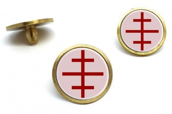 Papal Cross Golf Ball Markers