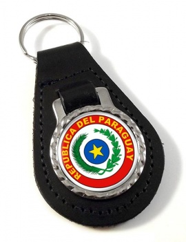 Paraguay Leather Key Fob