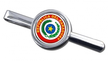 Paraguay Round Tie Clip