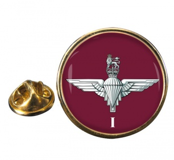 1st Battalion Parachute Regiment (British Army)  Round Pin Badge