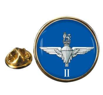 2nd Battalion Parachute Regiment (British Army)  Round Pin Badge