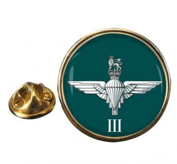 3rd Battalion Parachute Regiment  Round Pin Badge