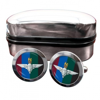 Parachute Regiment HQ (British Army)  Round Cufflinks