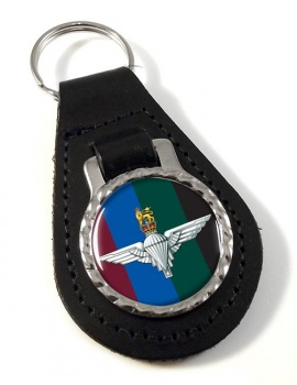 Parachute Regiment HQ (British Army)  Leather Key Fob