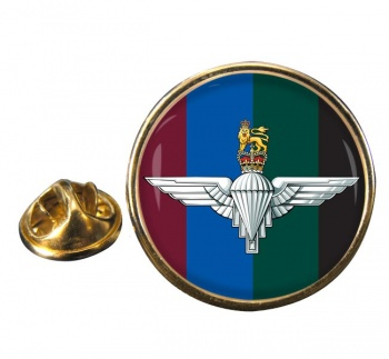 Parachute Regiment HQ (British Army)  Round Pin Badge