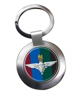 Parachute Regiment HQ (British Army)  Chrome Key Ring