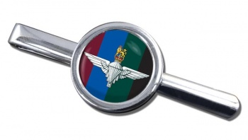 Parachute Regiment HQ (British Army)  Round Tie Clip