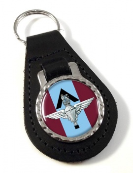 Parachute Regiment Pathfinder (British Army) Leather Key Fob