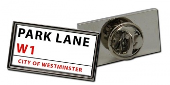 Park Lane Rectangle Pin Badge