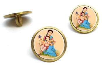 Parvati and Baby Ganesh Golf Ball Markers
