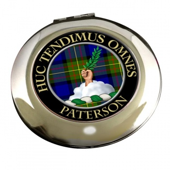 Paterson Scottish Clan Chrome Mirror