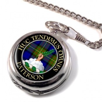 Paterson Scottish Clan Pocket Watch