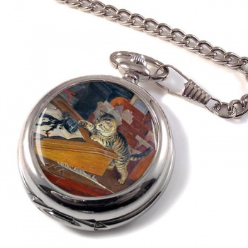 Witness my Act and Deed by Frank Paton Pocket Watch