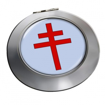 Patriarchal Cross Chrome Mirror