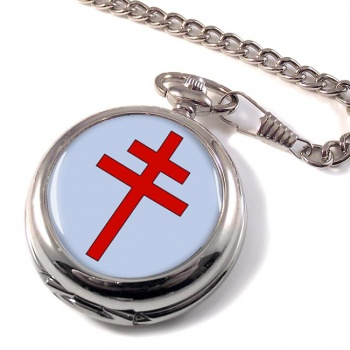 Patriarchal Cross Pocket Watch