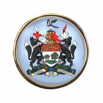 Prince Edward Island (Canada) Round Pin Badge